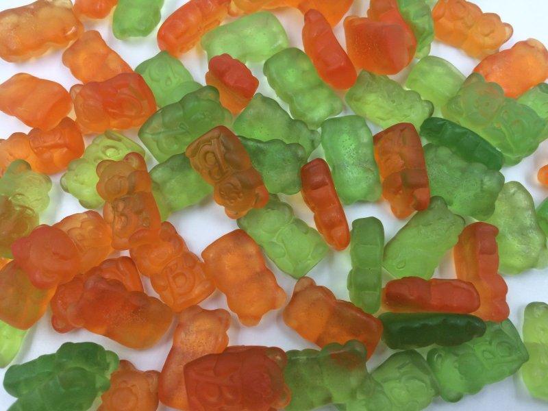 De Bron Jelly Bears Gummibärchen Zuckerfrei 1 kg