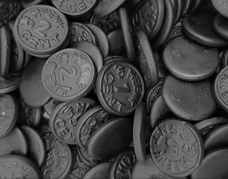 MEENK Munten Lakritz Münzen 1 kg