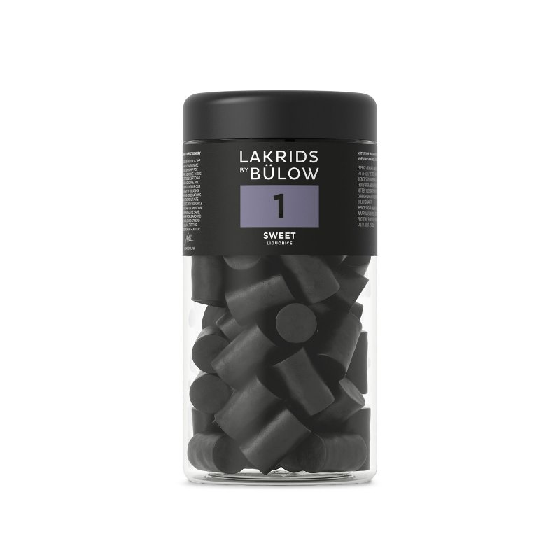 Lakrids by Bülow - 1 - Sweet Liquorice - Süßes Lakritz - 360g