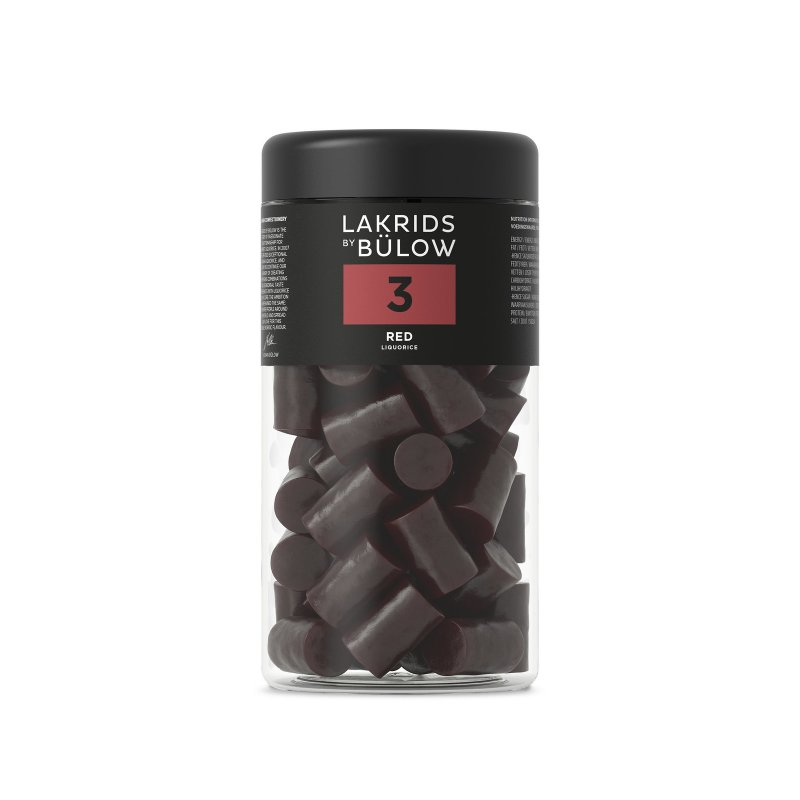 Lakrids by Bülow - 3 - Red Liquorice - Frucht Lakritz - 360g