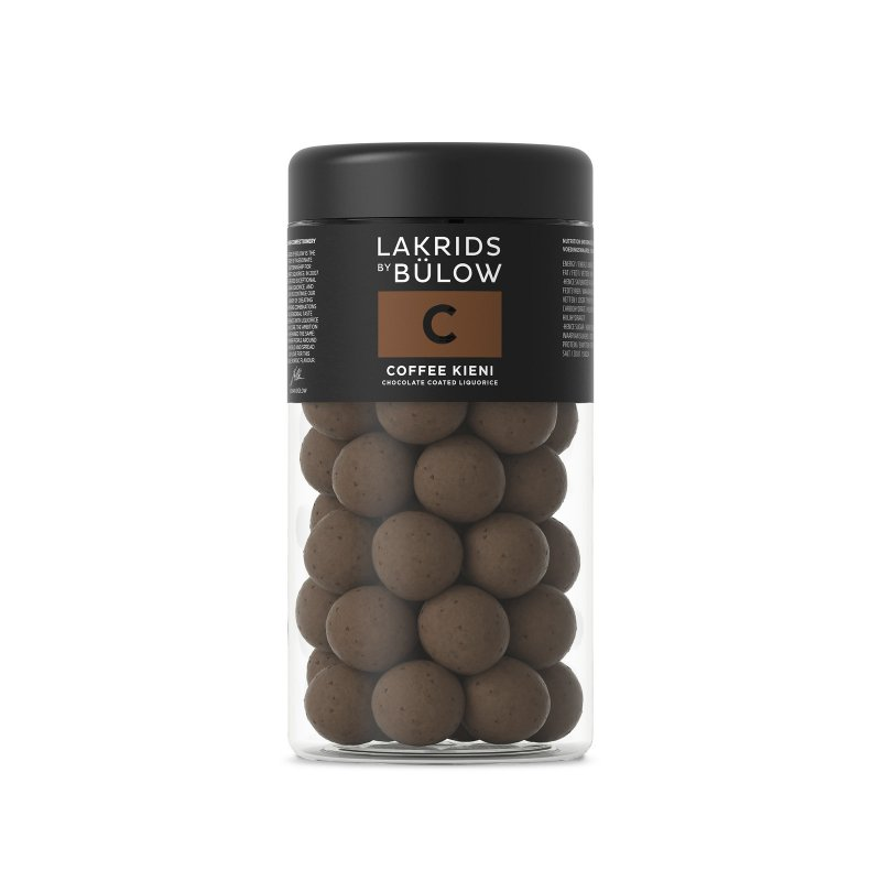 Lakrids by Bülow - C - Coffee Kieni - Lakritz mit Schokolade - 295g