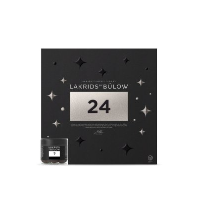 Lakrids by Bülow - Adventskalender - Premium Lakritz - 309g