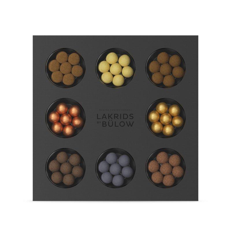 Lakrids by Bülow - Selection Box mit Zange - Premium Lakritz - 335g