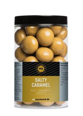 mynaschwerk - SALTY CARAMEL - Salz Karamell Lakritz - 300 g