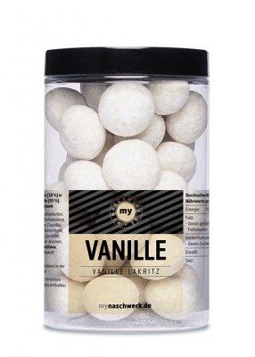 mynaschwerk - VANILLE - Vanille Weiße Schokolade Lakritz - 300 g